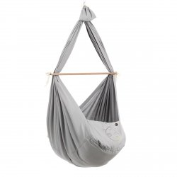 NONOMO® SWINGING HAMMOCK-SET TODDLER WITH POLYESTER MATTRESS AND CEILING FIXTURE