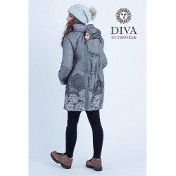 Diva Milano babywearing spring/autumn coat 4 in 1 Pietra