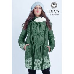 Diva Milano babywearing winter coat 4 in 1 Pino