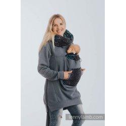 LennyLamb Babywearing Sweatshirt 3.0 - Jeans with Trinity Cosmos