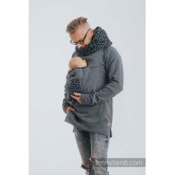 LennyLamb Babywearing Sweatshirt 3.0 - Jeans with Kyanite