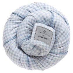 Manduca elastický šátek BELLYBUTTON - Softcheck Blue