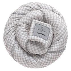 Manduca elastický šátek BELLYBUTTON - Softcheck Grey