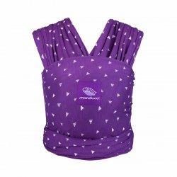 Manduca elastický šátek Purple Darts
