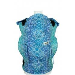 Lenka ergonomické nosítko - 4ever - Mandala - Modrá