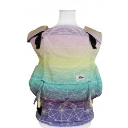 Lenka ergonomical babycarrier - 4ever - Gossamer - Tropical Juice