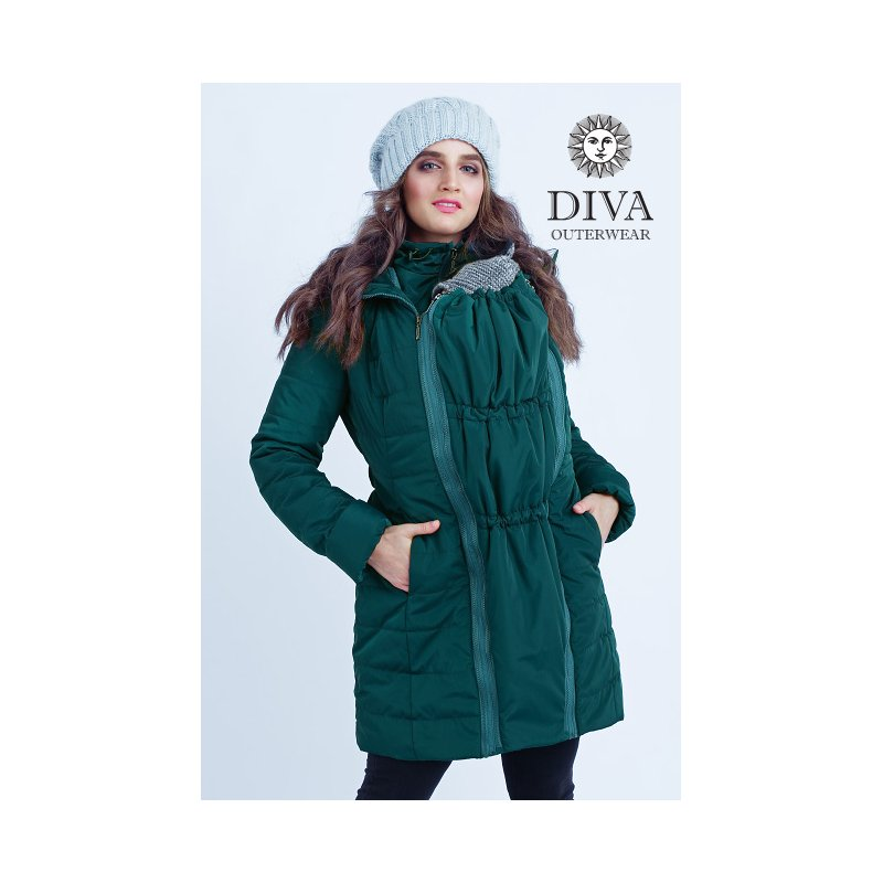 85acac78f826 Diva Milano babywearing winter coat 4 in 1 Mare - ŠátkoMánie.cz