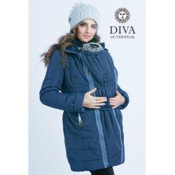Diva Milano babywearing winter coat 4 in 1 Azzurro