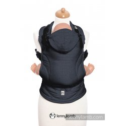 LennyLamb ergonomické nosítko Basic Line Onyx