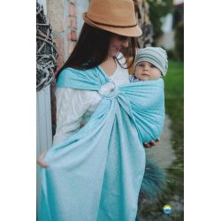 Little Frog ring sling Turquoise Ray