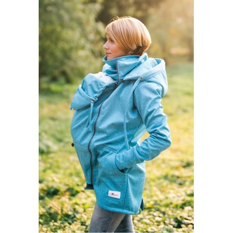 Lenka Softshell Jacket - Tyrkys