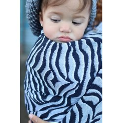 Yaro Ring Sling Tiger Ultra Navy Grey Alpaca