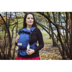 Storchenwiege babycarrier Blue