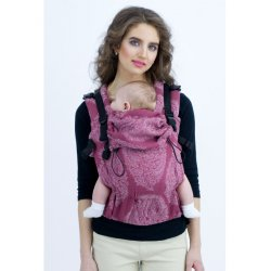 Diva Milano adjustable babycarrier - Diva Essenza - The One! - Berry Linen