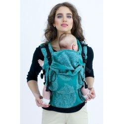 Diva Milano rostoucí ergonomické nosítko - Diva Essenza - The One! - Smeraldo Linen