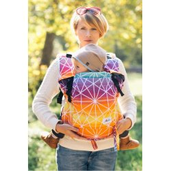 Lenka ergonomical babycarrier - 4ever - Gossamer - Sunrise