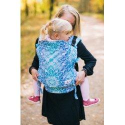 Lenka ergonomical babycarrier - Modrá mandala
