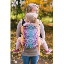 Lenka ergonomical babycarrier - Mandala Night