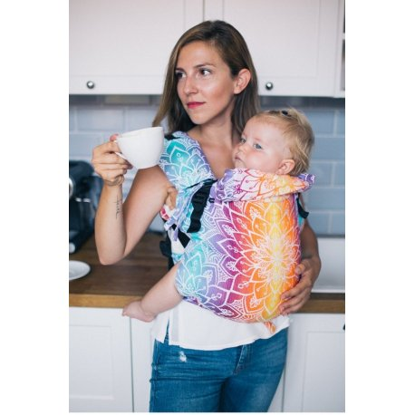 Lenka ergonomical babycarrier - 4ever - Mandala - Day