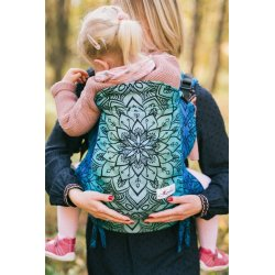 Lenka ergonomical babycarrier - Mandala - Polar day