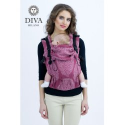 Diva Milano adjustable babycarrier - Diva Essenza - The One! - Berry Bamboo