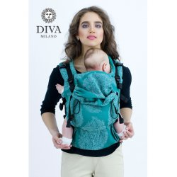 Diva Milano rostoucí ergonomické nosítko - Diva Essenza - The One! - Smeraldo Bamboo