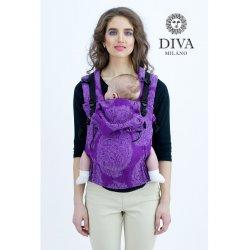Diva Milano rostoucí ergonomické nosítko - Diva Essenza - The One! - Viola Bamboo