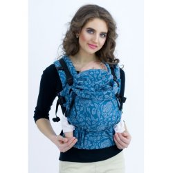 Diva Milano adjustable babycarrier - The One! - LE - Rose Diamante Petrel