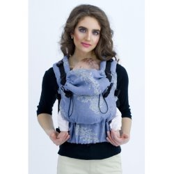 Diva Milano adjustable babycarrier - The One! - LE - Reticella Notte Linen