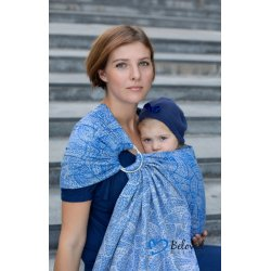 Beloved Slings Ring Sling Linen Dahlias