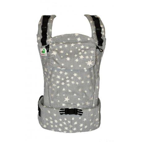 MoniLu ergonomic babycarrier UNI START Smoky Stars