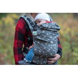 MoniLu ergonomic babycarrier UNI (Adjustable) Coal Stars