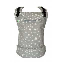 MoniLu ergonomic babycarrier UNI (Adjustable) Smoky Stars