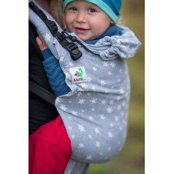 MoniLu ergonomic babycarrier UNI (Adjustable) Smoky Stars