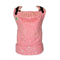 MoniLu ergonomic babycarrier UNI (Adjustable) Azalea Stars