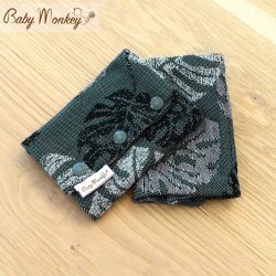 BabyMonkey Drool Pads - Rainforest - Rosemary