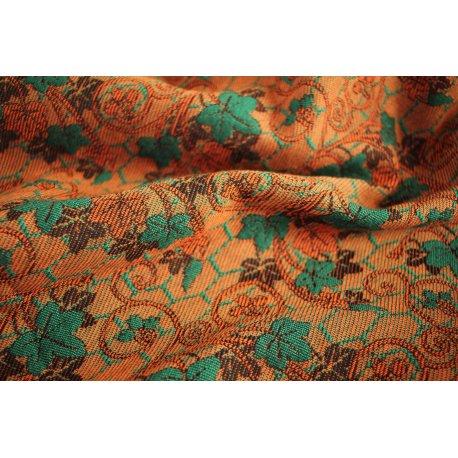 Yaro Ring Sling Grapevine Duo Green Orange Wool