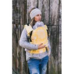 Lenka ergonomical babycarrier - 4ever - Folky - Yellow