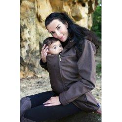 Gemini Bunda pro nosící rodiče – kávový melír