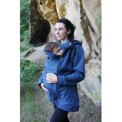 Gemini Softshell Jacket - blue melange