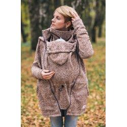 Lenka Babywearing Sweater Hoodie Brown