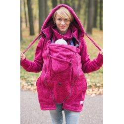 Lenka Babywearing Sweater Hoodie Pink