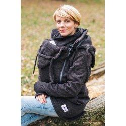 Lenka Babywearing Sweater Hoodie Black
