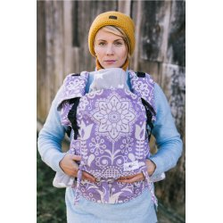 Lenka ergonomical babycarrier - 4ever - Folk - violet