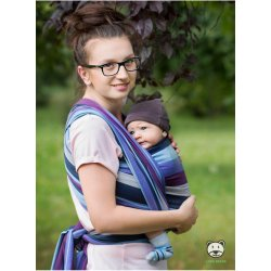Luna Dream Lavender Evening Bamboo (Striped)