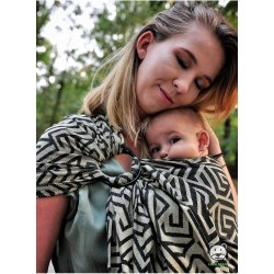 Luna Dream ring-sling Maze Basic Gold