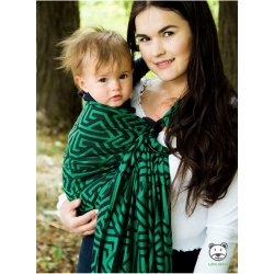 Luna Dream ring-sling Maze Basic Green