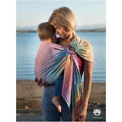 Luna Dream ring-sling Little Hearts Rainbow