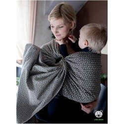 Luna Dream ring-sling Little Hearts Ecru