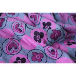 Yaro Ring Sling Bloomsbury Ultra Pink Grey